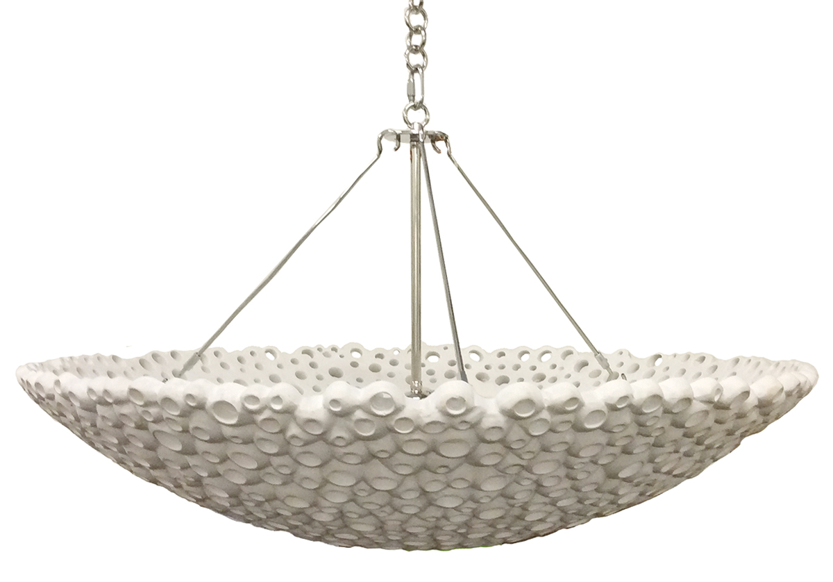 meri bowl chandelier large