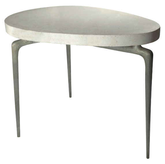 ray oval side table